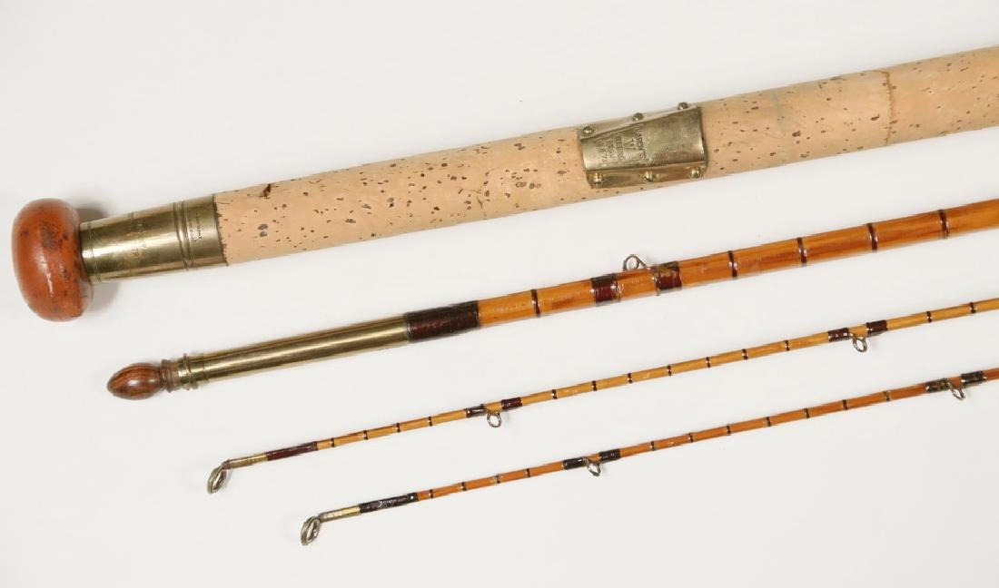 HARDY FLY ROD, REEL, FLIES AND BOOKS - 3