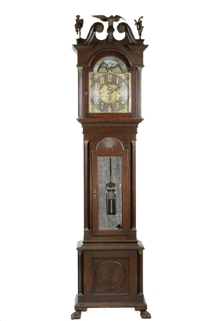 MAGNIFICENT TALL CLOCK