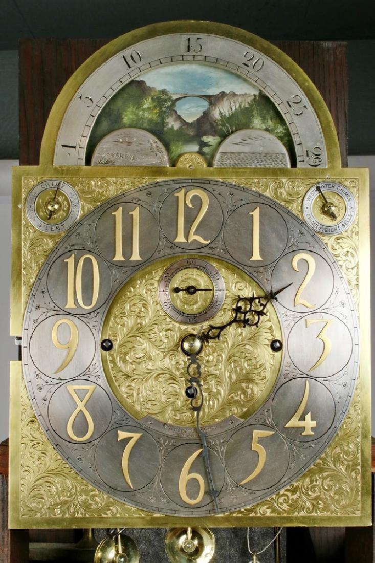 MAGNIFICENT TALL CLOCK - 6