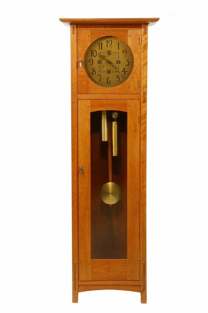 STICKLEY MISSION TALL CLOCK