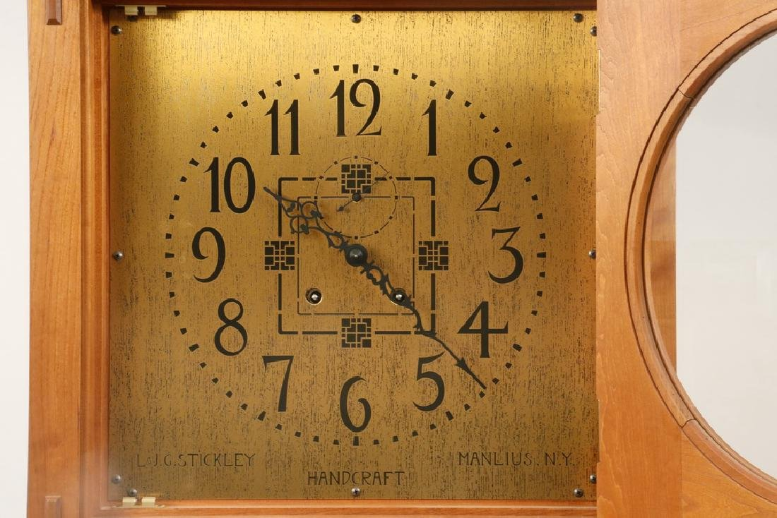STICKLEY MISSION TALL CLOCK - 2
