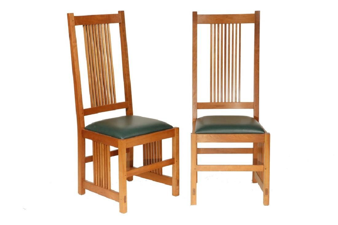 (6) STICKLEY SIDE CHAIRS