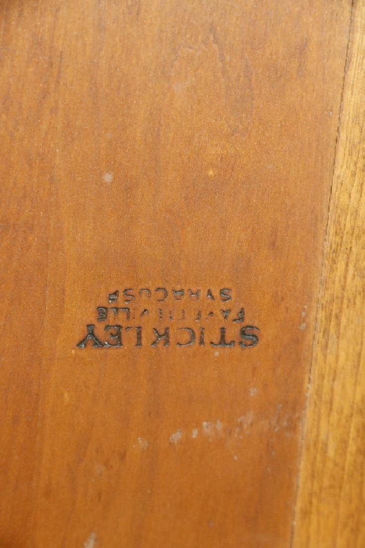 STICKLEY DINING TABLE WITH LEAVES - 3