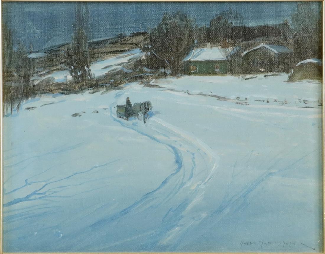 SVEND RASMUSSEN SVENDSEN (IL/NORWAY, 1864-1945) - 2