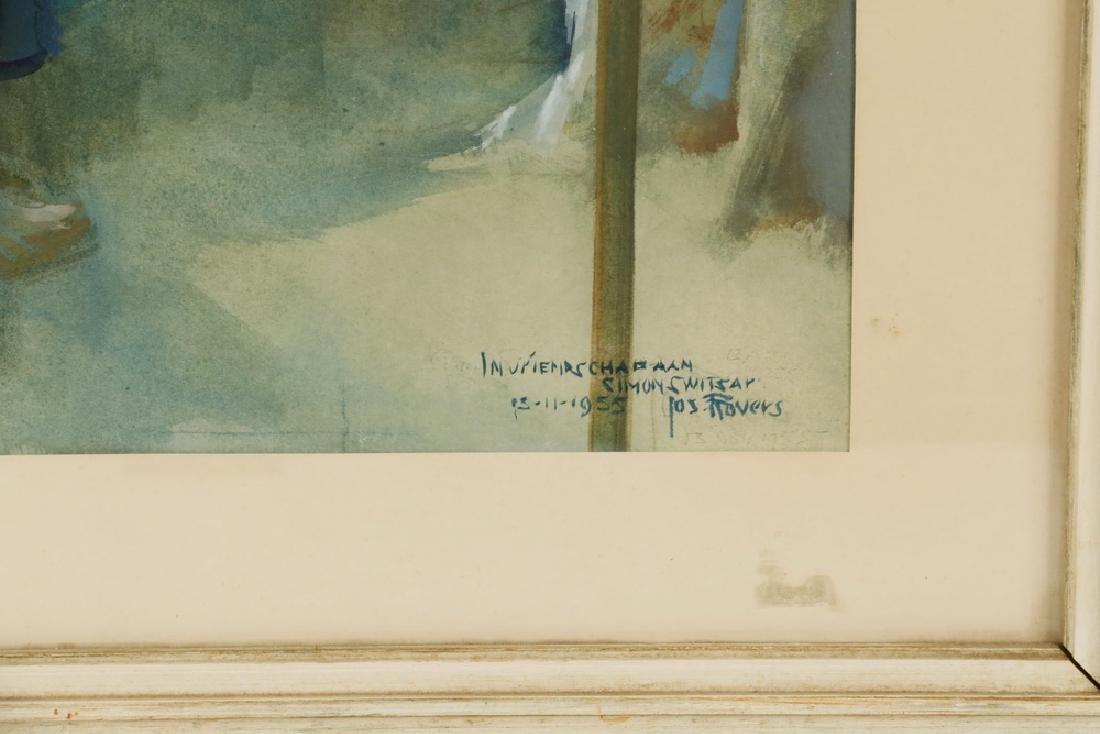 SIMON WILHELMIUS SWITZAR (CA/NETHERLANDS, 1904-1991) & - 3