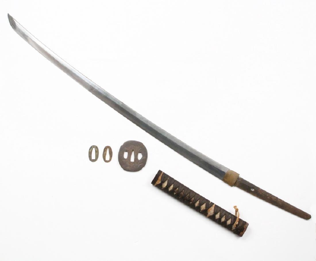 ANTIQUE JAPANESE KATANA SWORD - 2