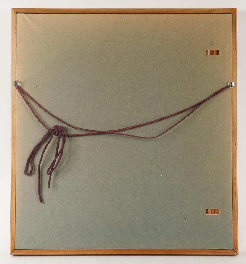 FRAMED 17TH C. JAPANESE PAINTING - 3