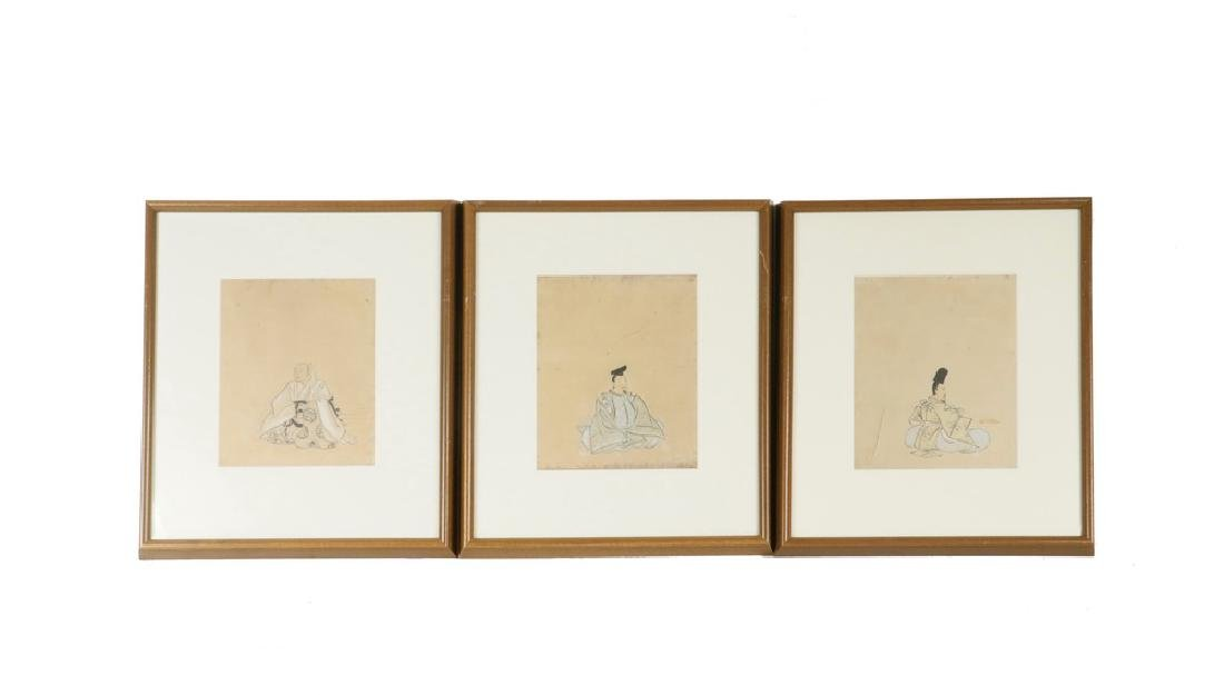 JAPANESE PORTRAITS OF SHINTO POETS