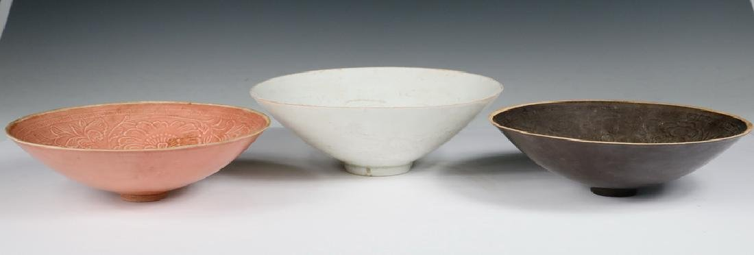 (3) CHINESE PORCELAIN BOWLS - 2