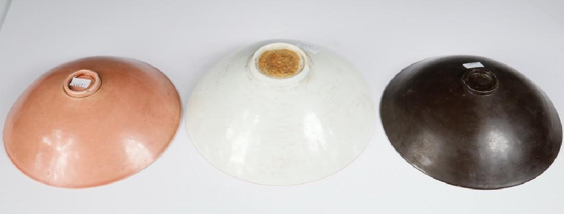 (3) CHINESE PORCELAIN BOWLS - 3