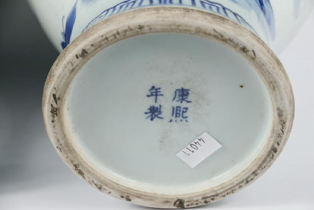 PAIR OF CHINESE PORCELAIN VASES - 5