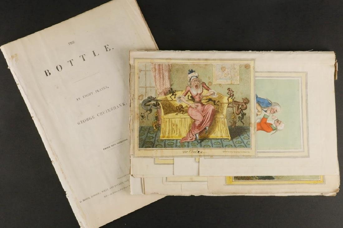 COLLECTION OF 18TH C. BRITISH CARICATURE PRINTS
