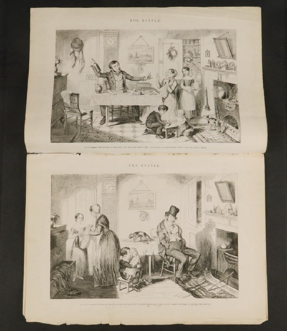 COLLECTION OF 18TH C. BRITISH CARICATURE PRINTS - 2