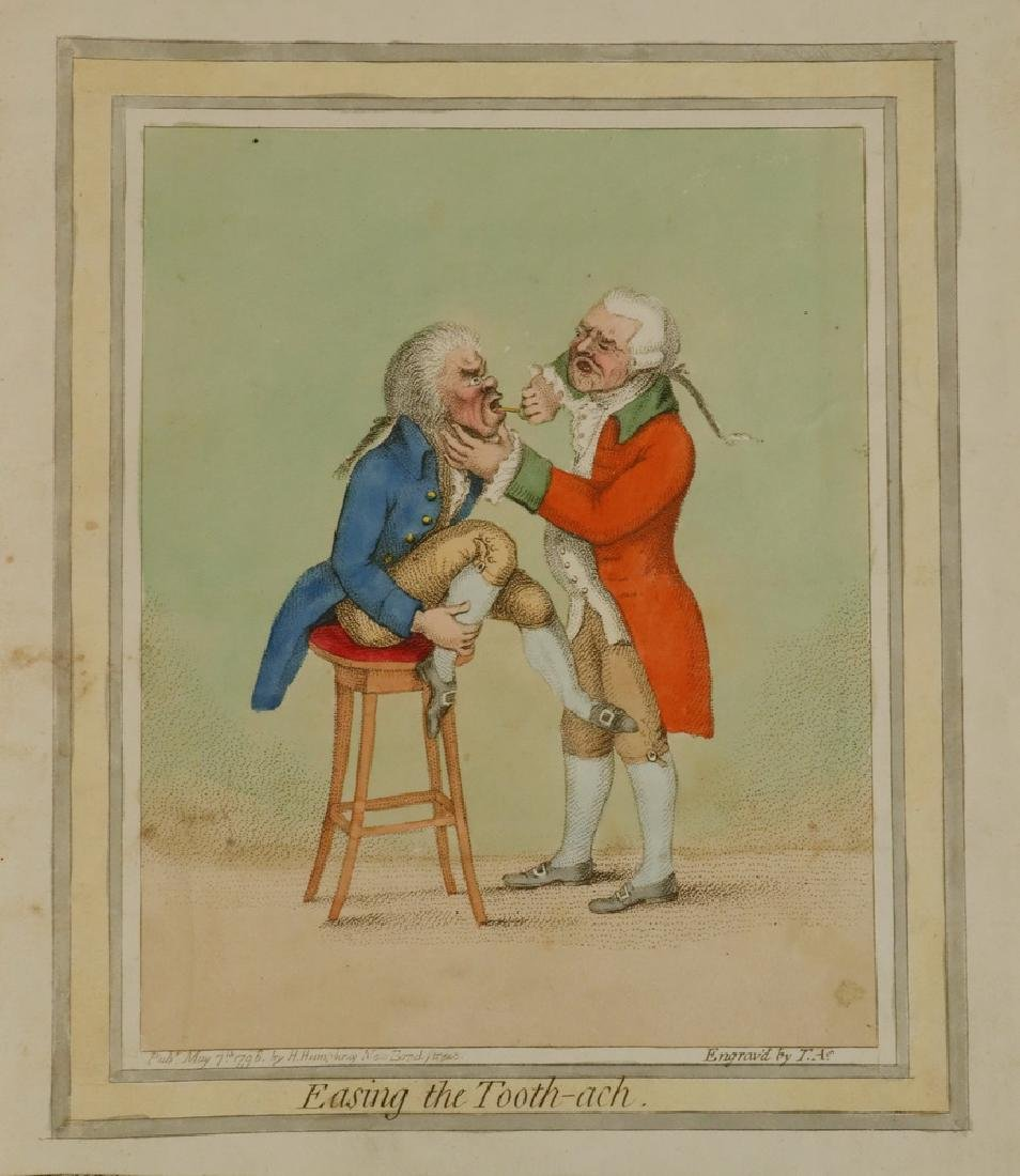 COLLECTION OF 18TH C. BRITISH CARICATURE PRINTS - 3