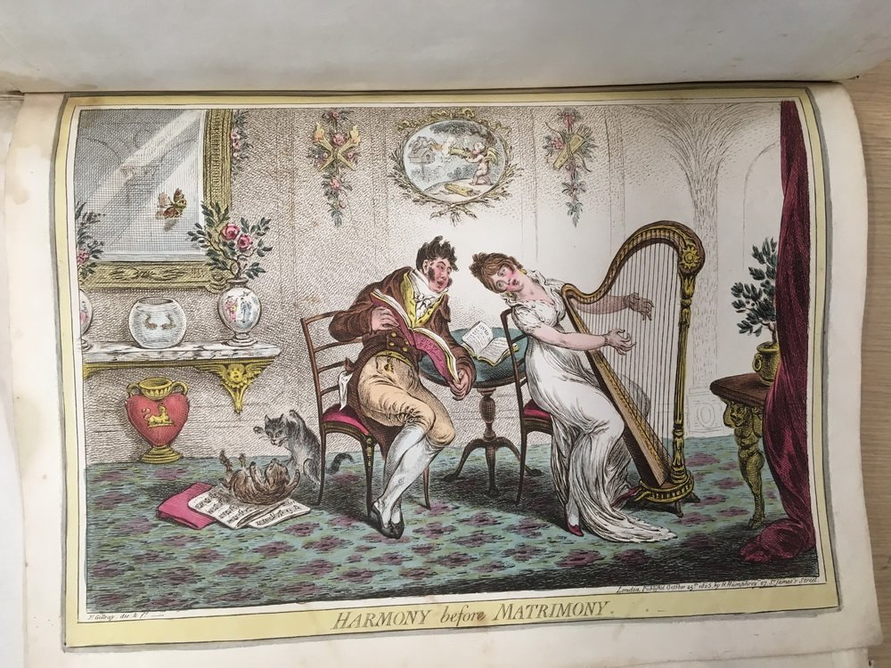 COLLECTION OF 18TH C. BRITISH CARICATURE PRINTS - 6