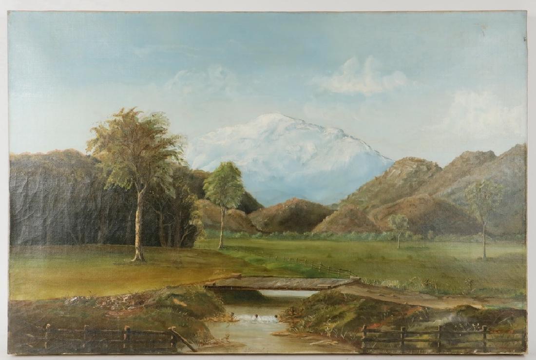 NAIVE 19TH C. NEW ENGLAND ARTIST