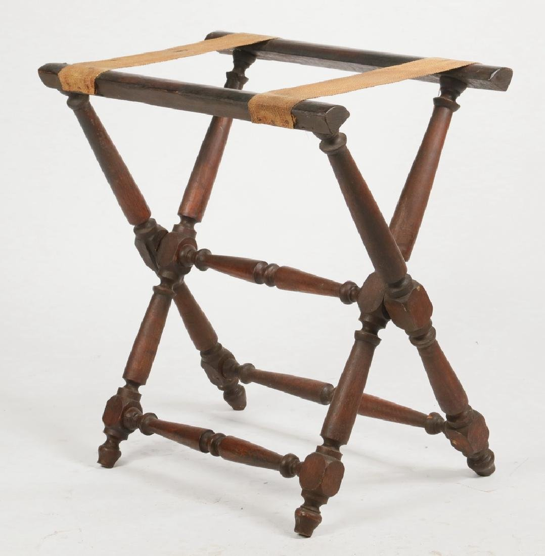 BUTLER'S FOLDING SERVICE STAND