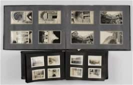 (2) HYDE FAMILY PHOTO ALBUMS GRAND TOUR CA. 1895-1905