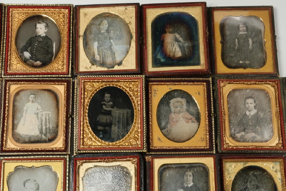 (12) CASED DAGUERREOTYPES OF CHILDREN - 3