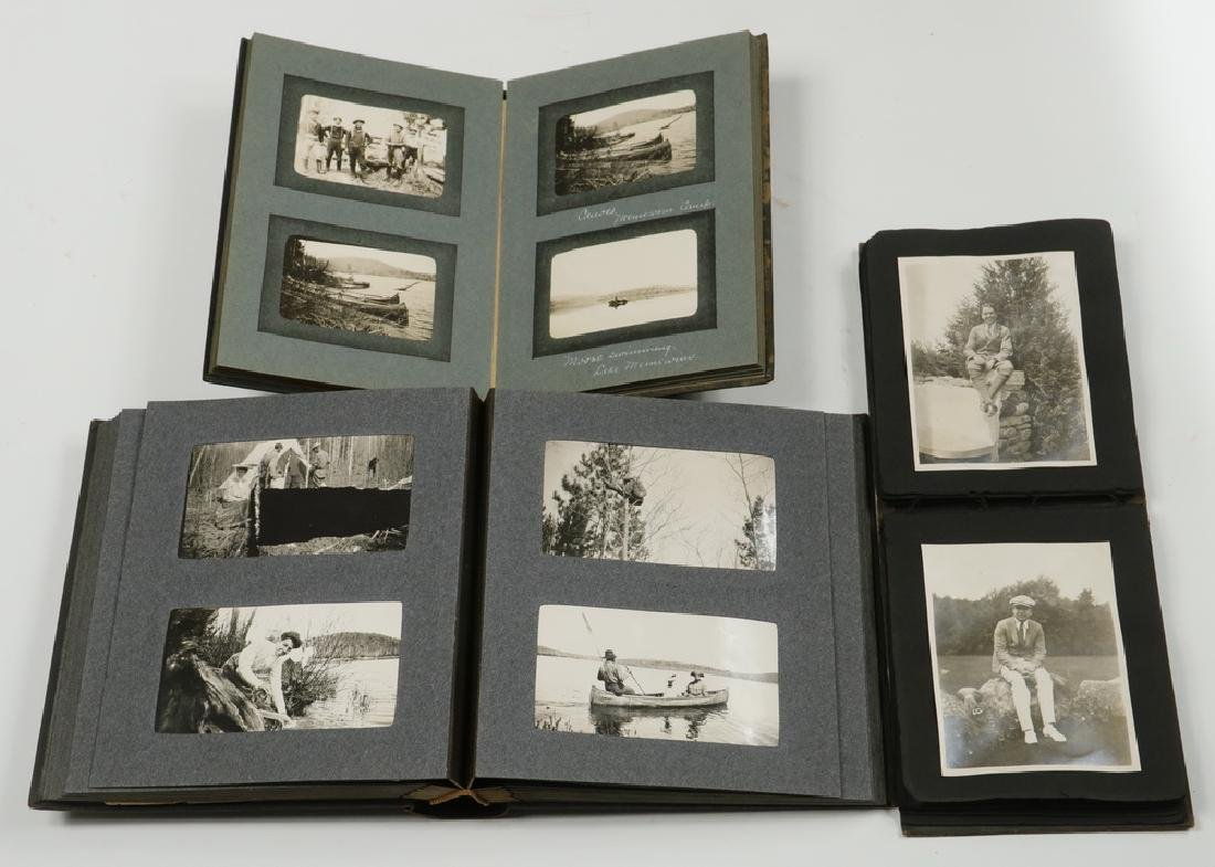 (3) SMALL PHOTO ALBUMS HYDE FAMILY OF BOSTON & NEW