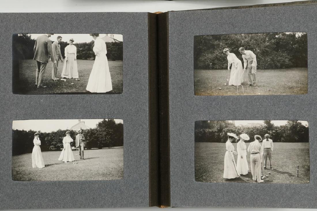(3) SMALL PHOTO ALBUMS HYDE FAMILY OF BOSTON & NEW - 2