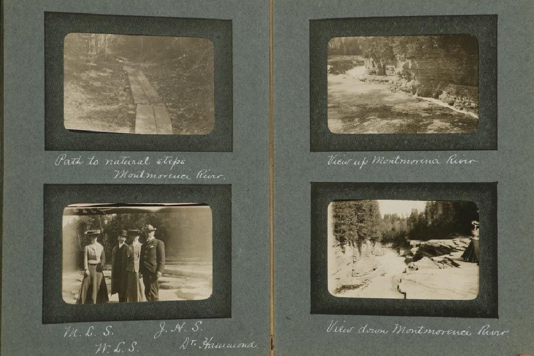 (3) SMALL PHOTO ALBUMS HYDE FAMILY OF BOSTON & NEW - 3