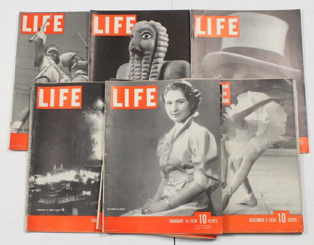 (67) 1938 LIFE MAGAZINES