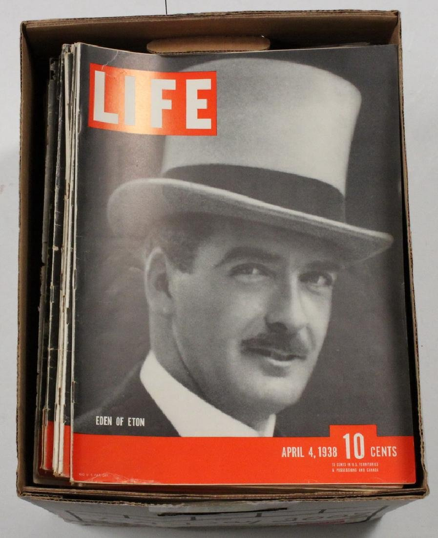 (67) 1938 LIFE MAGAZINES - 2