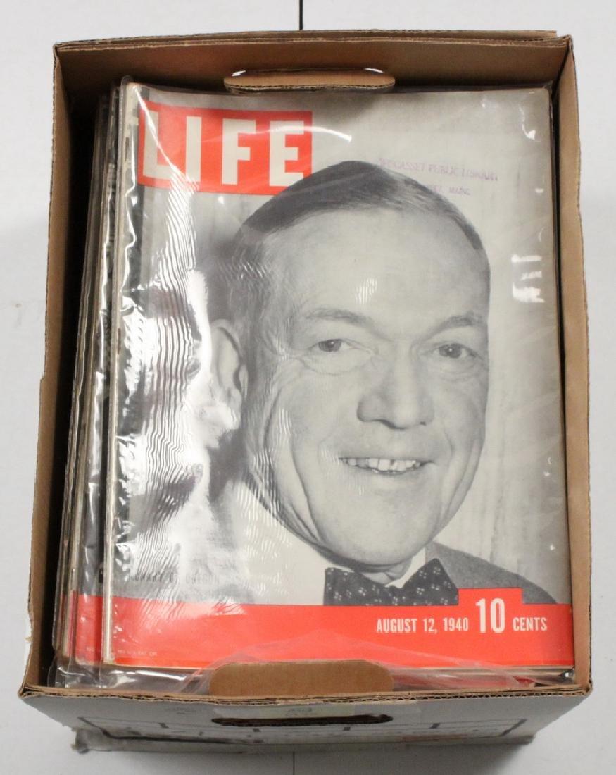 (40) 1940 LIFE MAGAZINES - 2