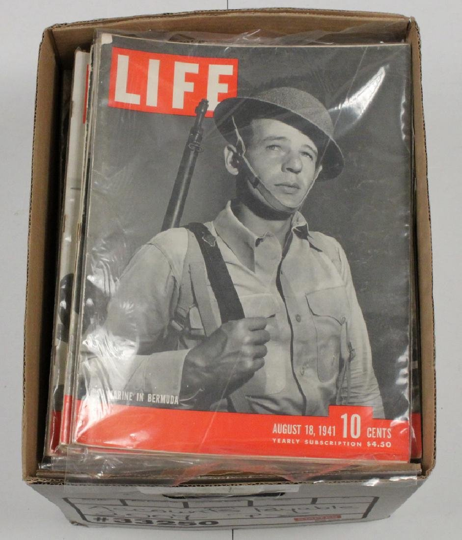 (40) 1941 LIFE MAGAZINES - 2