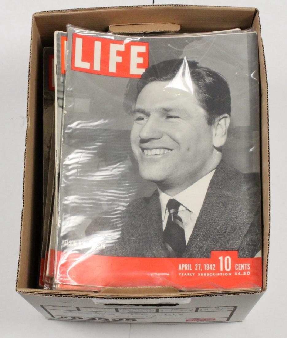 (40) 1942 LIFE MAGAZINES - 2