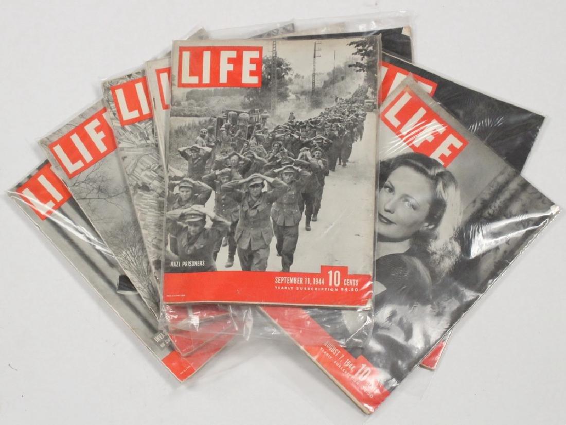 (47) 1944 LIFE MAGAZINES