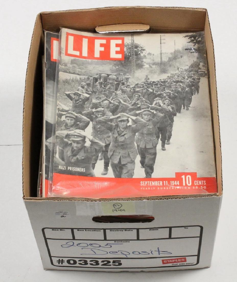 (47) 1944 LIFE MAGAZINES - 2