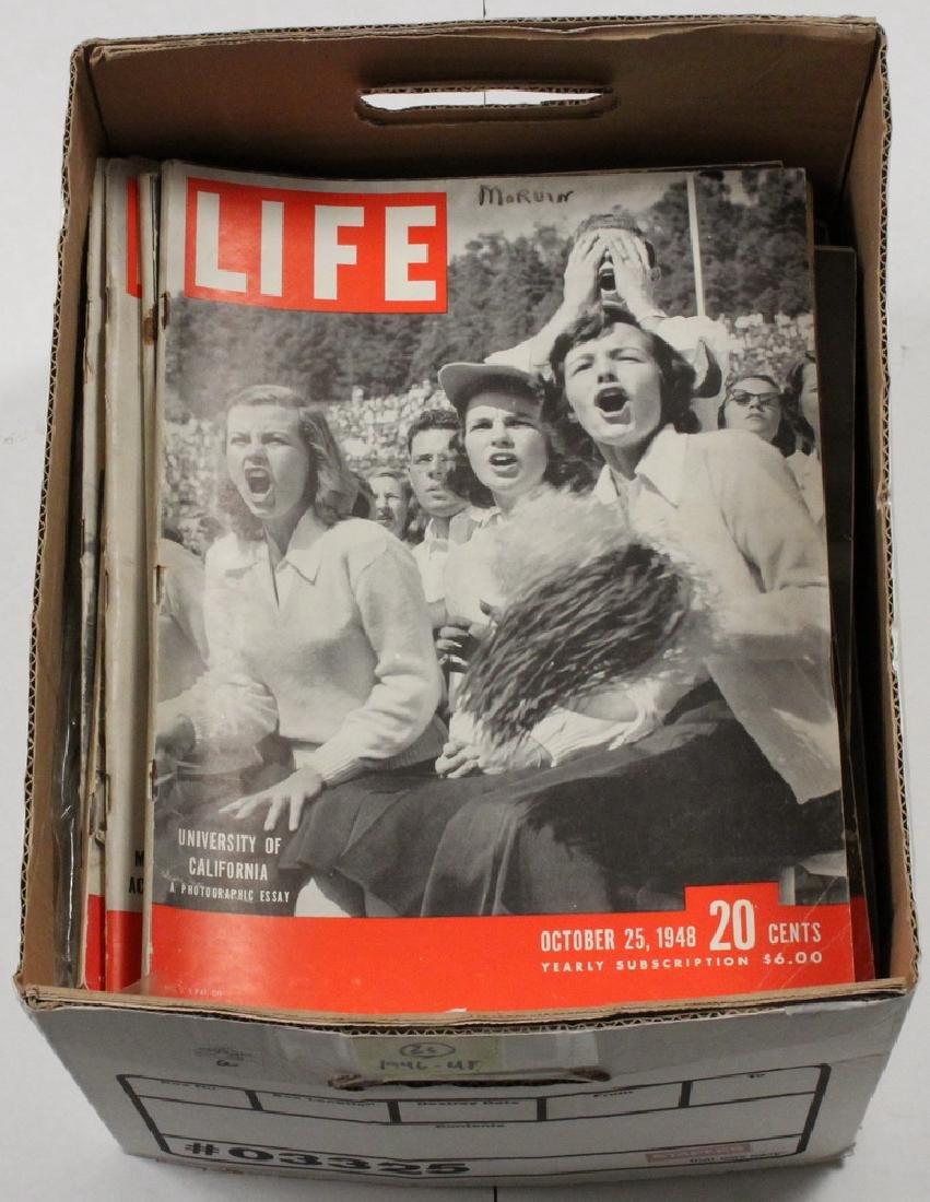 (26) 1946-48 LIFE MAGAZINES - 2