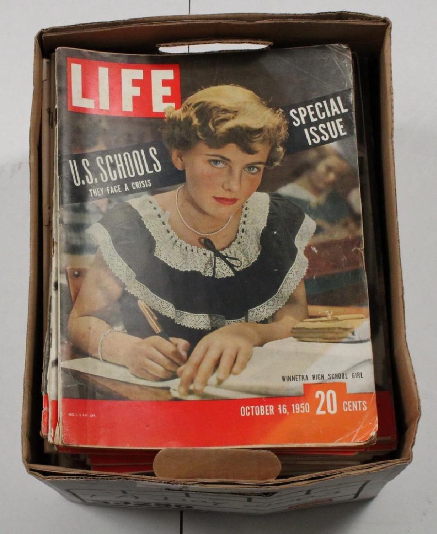 (41) 1949-59 LIFE MAGAZINES - 2