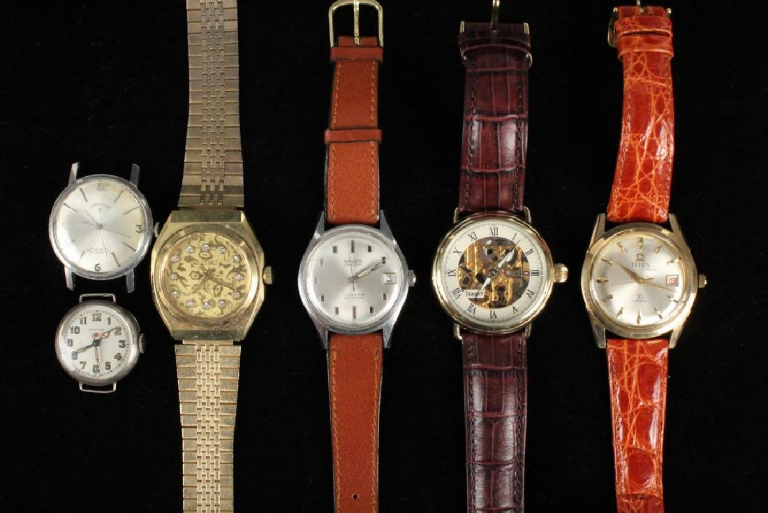 (6) ASSORTED WRISTWATCHES