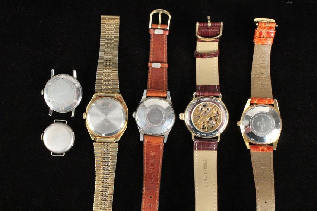(6) ASSORTED WRISTWATCHES - 2