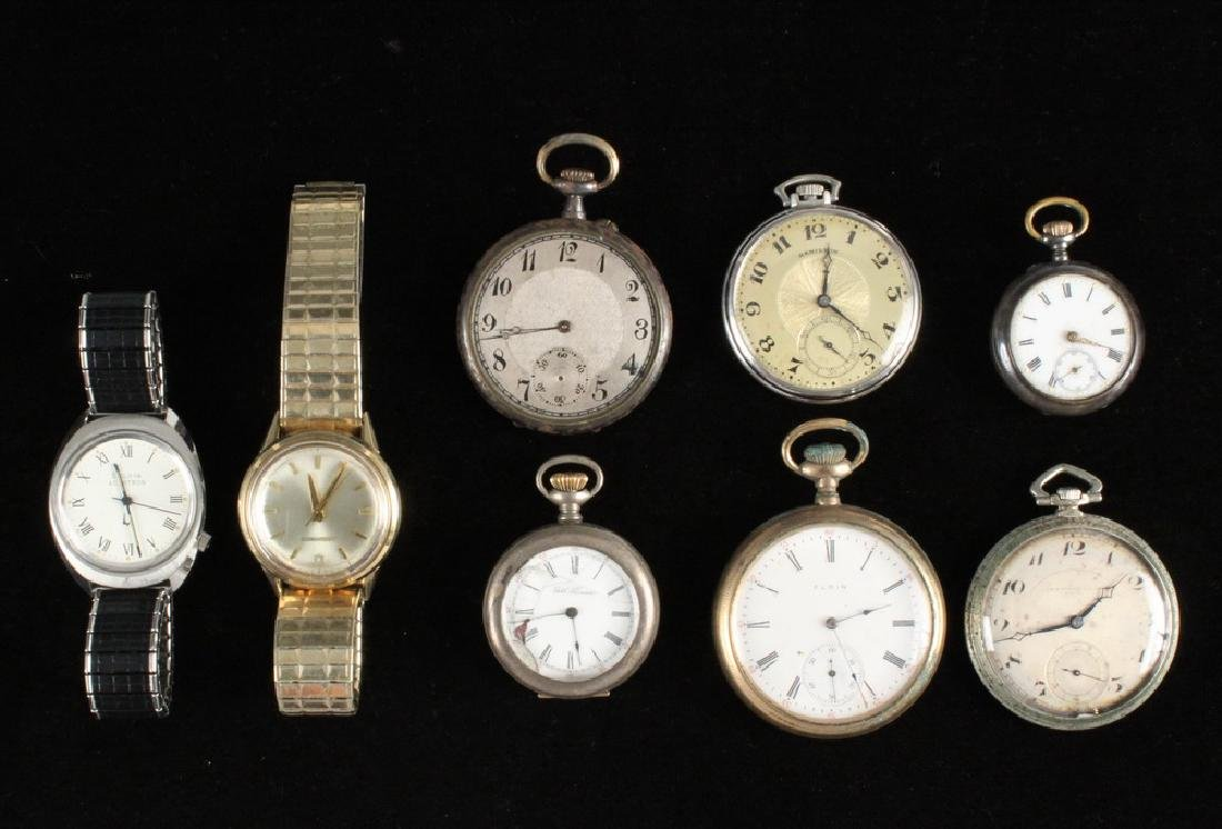 (8) ASSORTED WATCHES
