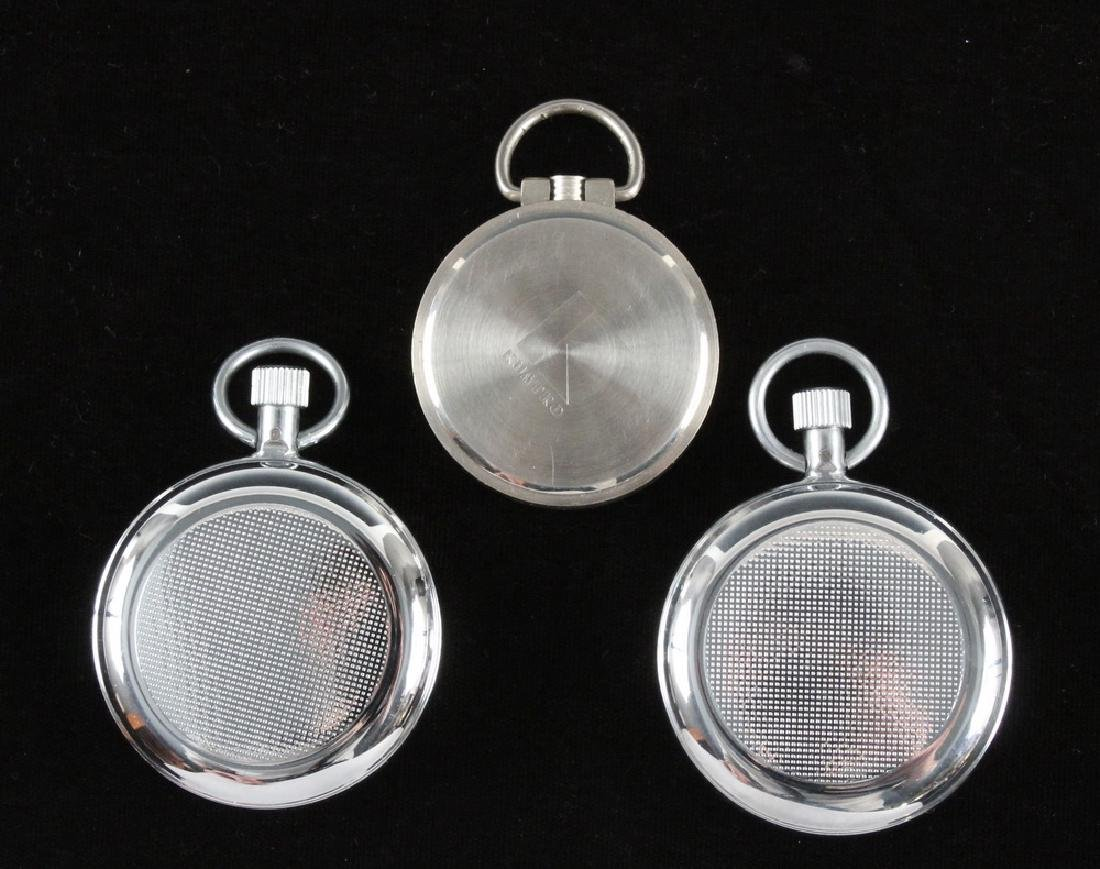 (2) RUSSIAN AGAT STOPWATCHES & (1) POCKET WATCH - 2