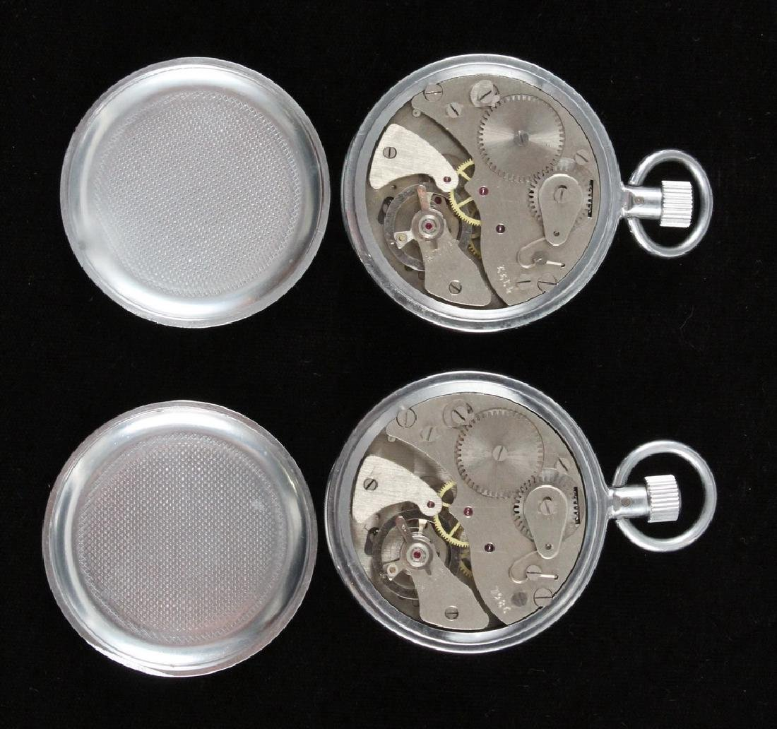 (2) RUSSIAN AGAT STOPWATCHES & (1) POCKET WATCH - 3