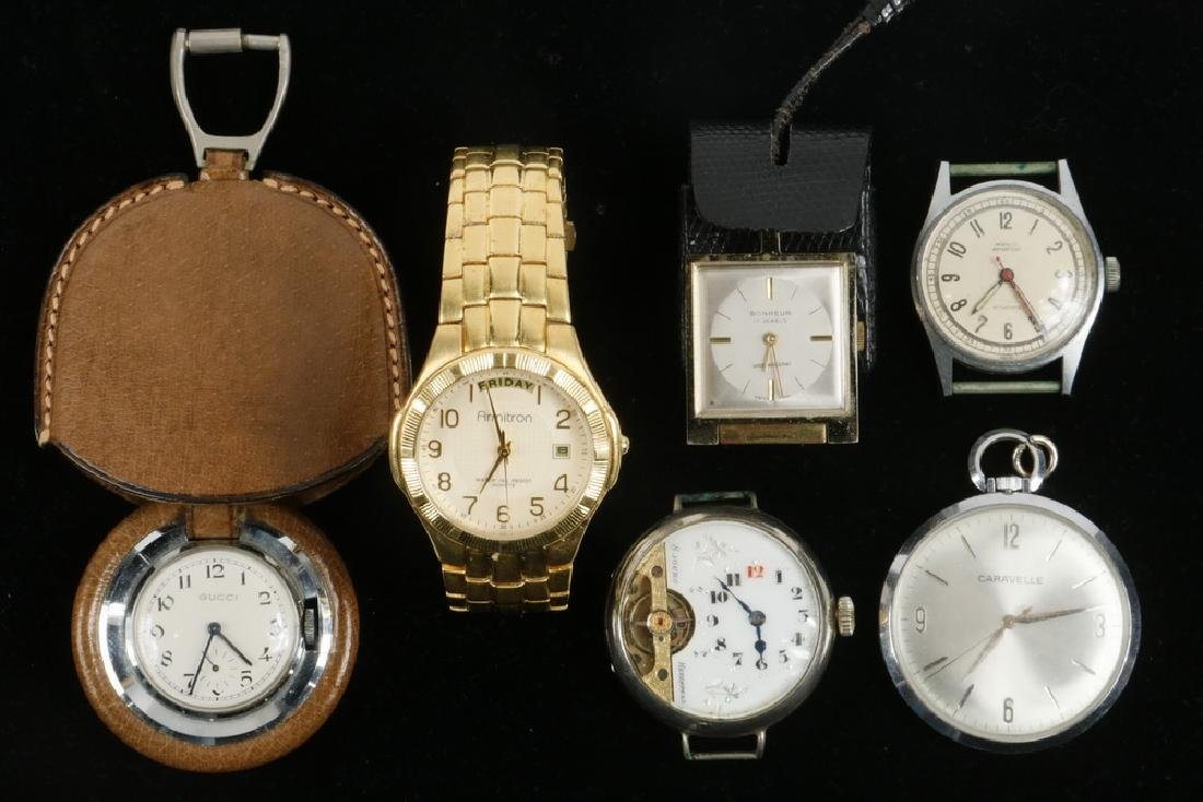 (6) ASSORTED WATCHES