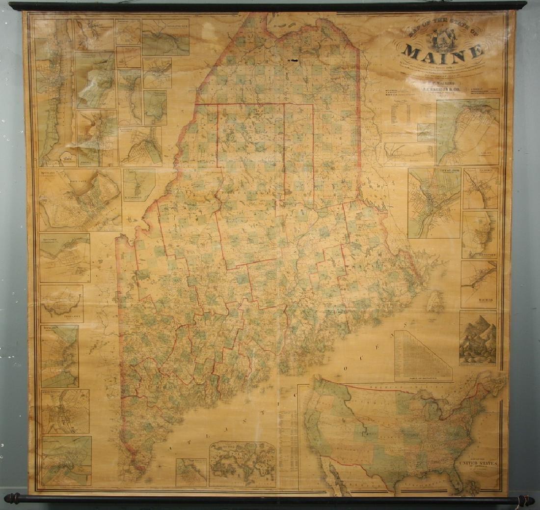 SCHOOLROOM MAP