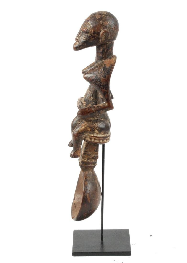 AFRICAN CEREMONIAL SPOON - 2