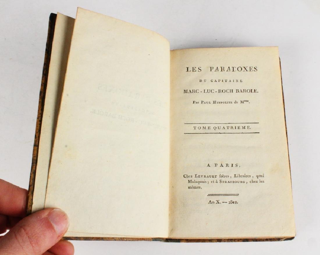 RARE (4 VOL) SET FRENCH BOOKS - 2