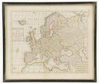 EARLY DUTCH MAP OF EUROPE