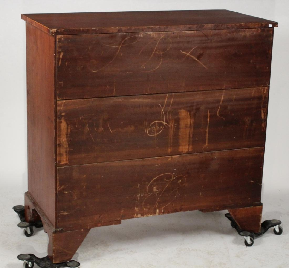 18TH C. CHIPPENDALE CHEST - 6