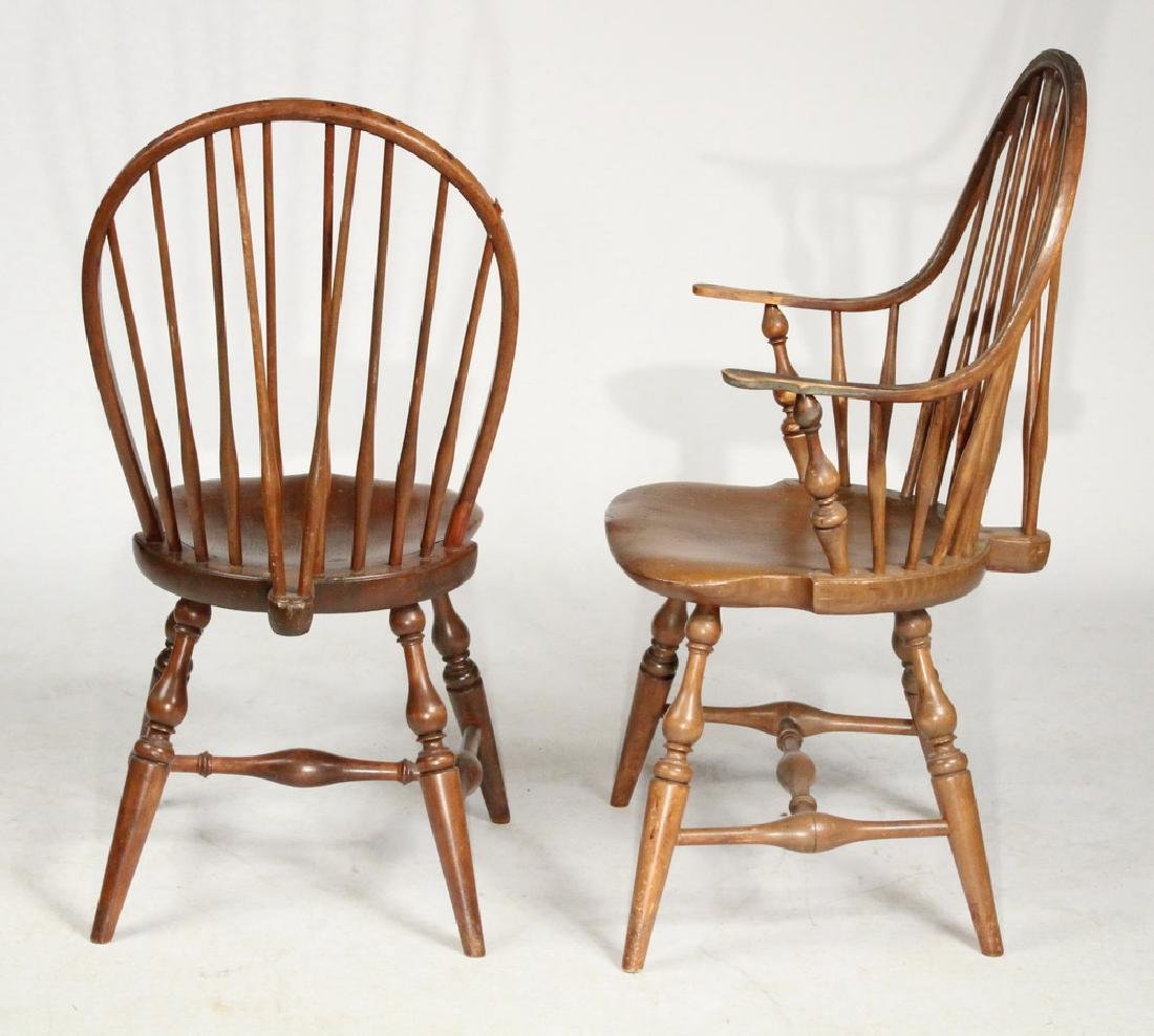 (SET OF 6) BOWBACK WINDSOR CHAIRS - 2