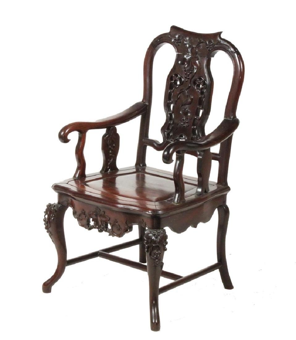 CHINESE ARMCHAIR FOR THE EUROPEAN MARKET