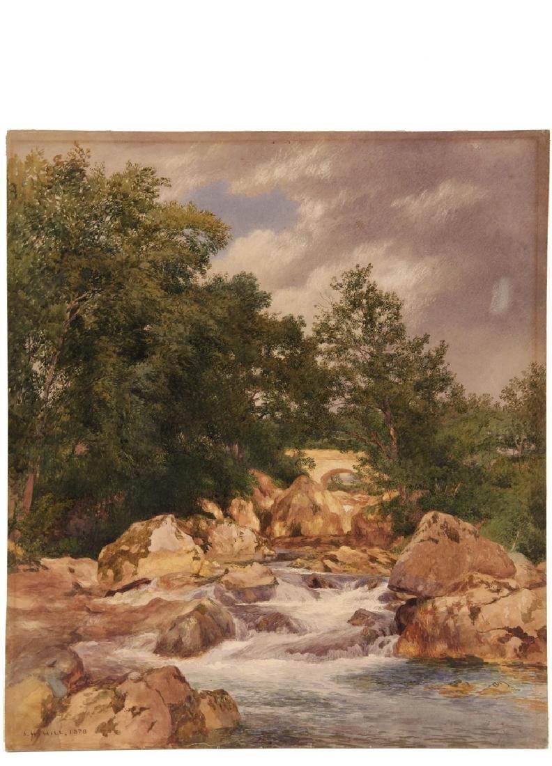 JOHN HENRY HILL (NY/CA, 1839-1922) - 2