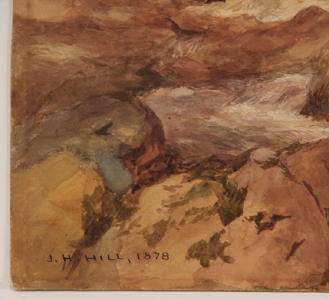 JOHN HENRY HILL (NY/CA, 1839-1922) - 3